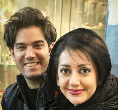 امیرعلی نبویان و همسرش در جشن امضای کتاب صوتی «شهر غصه» !+تصاویر