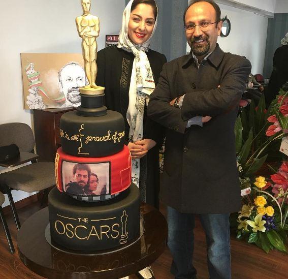 مراسم تجلیل از اصغر فرهادی کارگردان فیلم فروشنده در موزه سینما+تصاویر