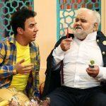 اکبر عبدی پس از سپری کردن دوران بیماری اش به تلویزیون بازگشت!+تصاویر