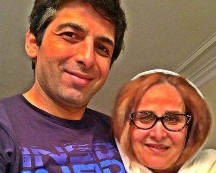 حمید گودرزی : مادر تنها کسی که حرفاش حرفه!+تصاویر