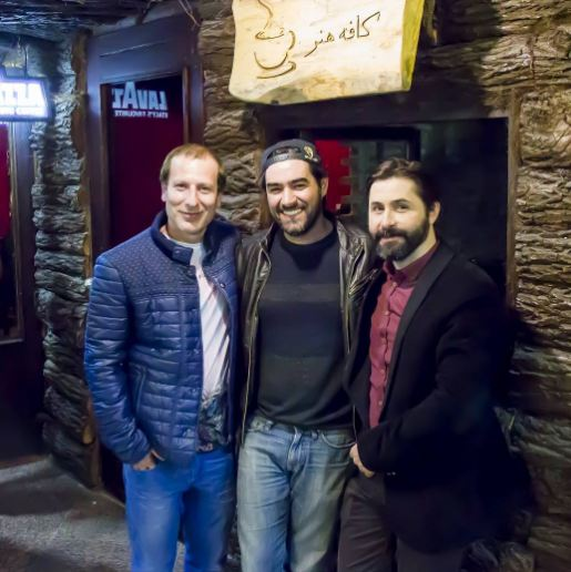 کافه هنر شهاب حسینی و رامین ناصر نصیر در لواسان!+تصاویر