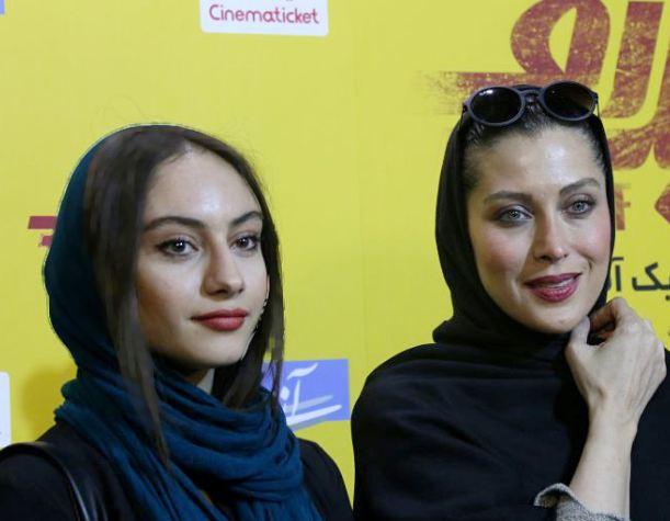 اکران مردمی فیلم تیک آف در سینما آزادی با حضور چهره ها+تصاویر