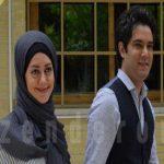 امیرعلی نبویان و همسرش بهار نوروزپور در برنامه زنده رود!+تصاویر