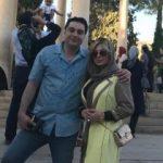 نیوشا ضیغمی در شیراز برای اکران فیلم هفت معکوس!