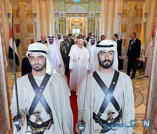 دیدنی های جذاب روز – سه شنبه ۱۶ بهمن! از سفر پاپ به امارات تا کاخ امپراتوری ژاپن