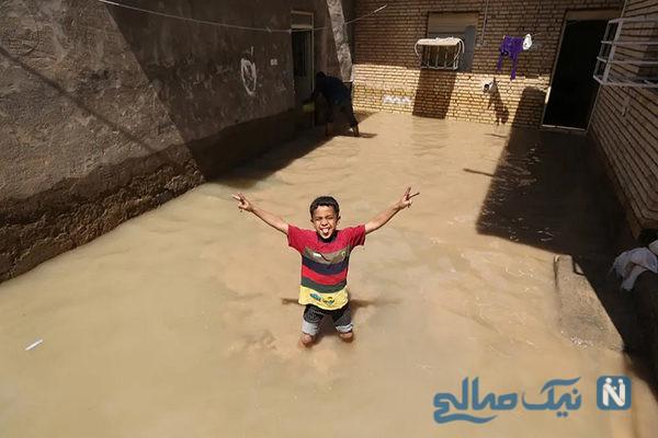 دیدنی های جذاب روز – یکشنبه ۲۵ فروردین! از جشنواره آب بازی تا سیل خوزستان