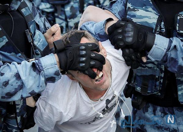 دیدنی های جذاب روز – یکشنبه ۶ مرداد! از تظاهرات ضددولتی در مسکو تا نمایی از سنت پترز بورگ