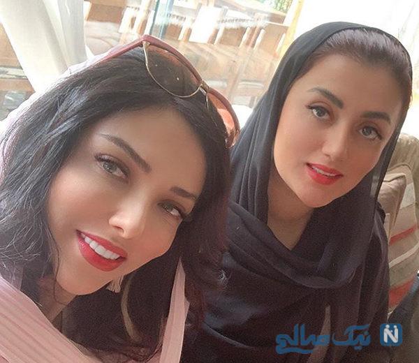 اینستاگرام بازیگران ۷۸۵ +تصاویری از میکاپ زیبای شبنم و سارا تا آرامش هادی