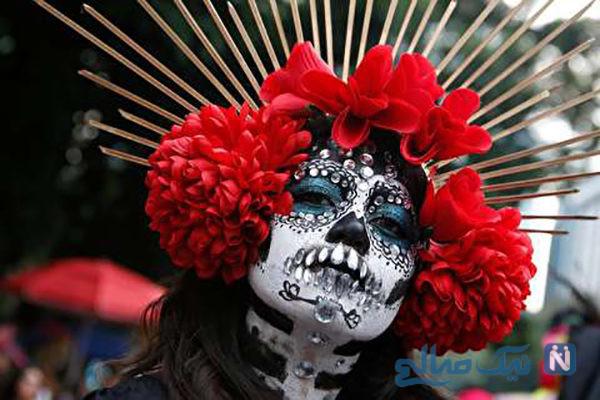 دیدنی های جذاب روز – دوشنبه ۶ آبان! از معترضان عراقی تا جشن روز مردگان در مکزیک