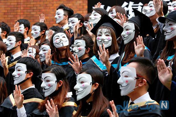 دیدنی های جذاب روز – پنجشنبه ۹ آبان! از اعتراضات به سبک لبنانی ها تا دانشجویان هنگ کنگی