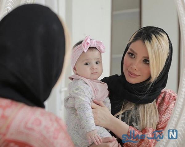 یکسالگی دختر مهران غفوریان تا حمید گودرزی در کنار پدر و برادرش (۸۸۸)