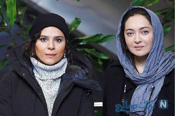 اکران فیلم آتابای نیکی کریمی در جشنواره تا تیپ برفی مریم معصومی (۸۸۰)