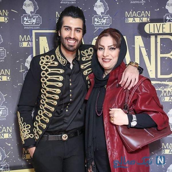 رهام هادیان و مادرش