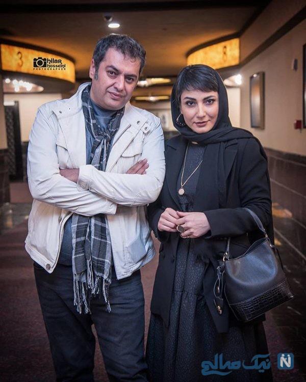 سامان سالور و همسرش