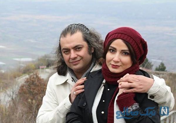 سامان سالور و همسرش در جشنواره تا سانیا محو در نور (۸۸۲)