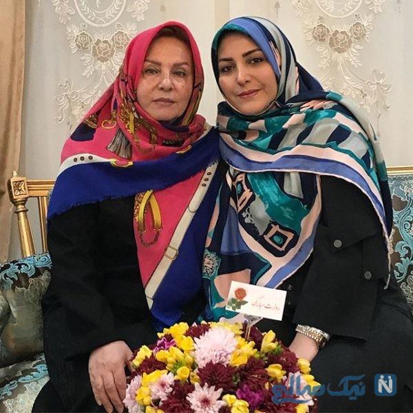 بازیگران و مادرانشان