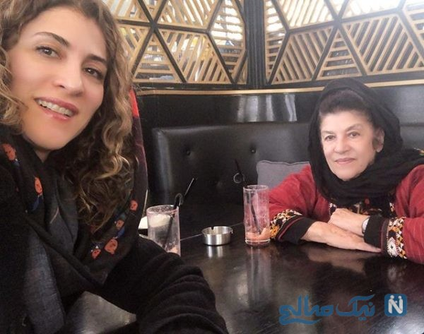 ویشکا آسایش و مادرش