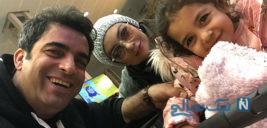 یکتا ناصر و منوچهر هادی با دخترشان سوفیا در آلمان تا خانم دکتر دریا (۸۸۶)