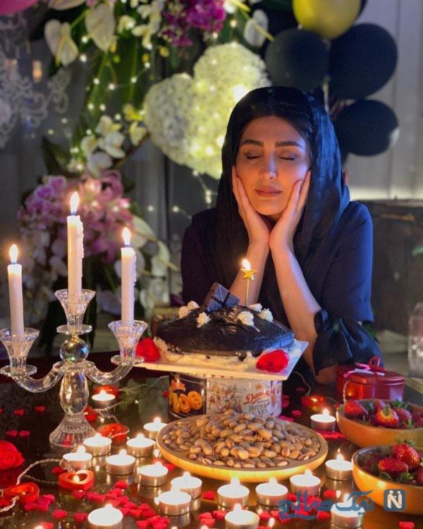 جشن تولد مریم معصومی