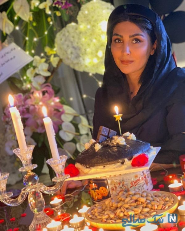 جشن تولد مریم معصومی در روزهای قرنطینه تا عزیز دل نرگس در روزهایی کرونایی (916)
