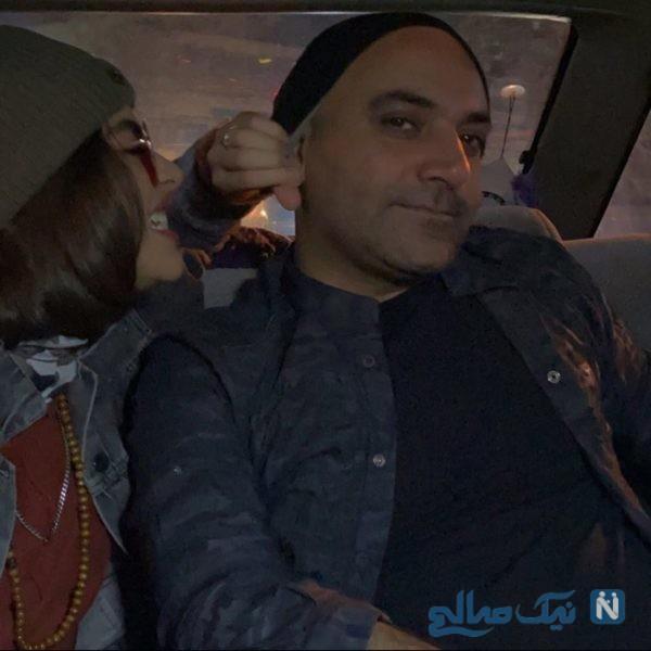 ریحانه پارسا و همسرش