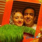 سحر ولدبیگی و همسرش در میان شکوفه ها تا تولد دلبر اسدالله در قرنطینه (۹۳۵)