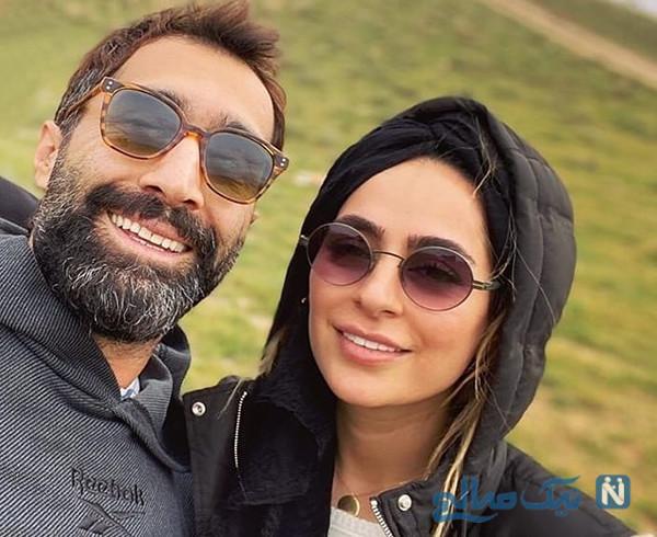 سمانه پاکدل و همسرش تا تولد برادر لاله و سوپرمن امیر جدیدی (۹۵۲)