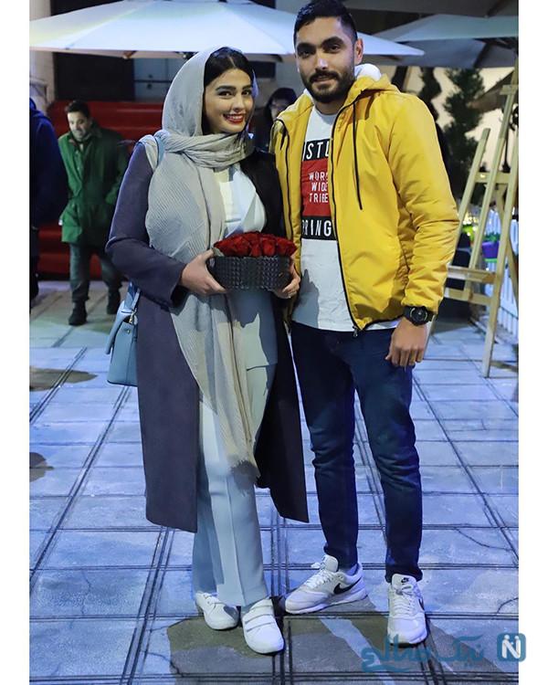 سیما خضرآبادی و همسرش