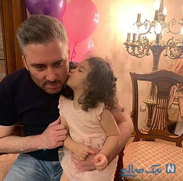 نیما مسیحا و دخترش