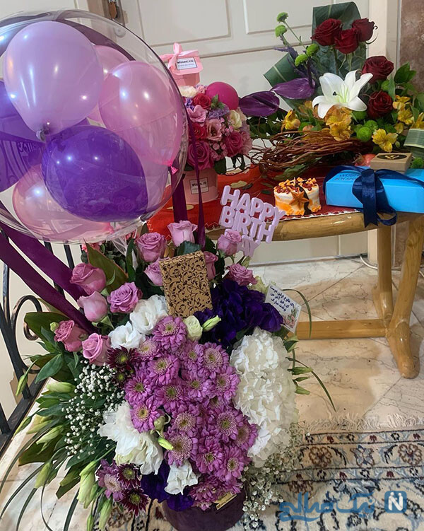 جشن تولد مژده لواسانی
