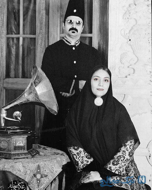 شبنم مقدمی و همسرش