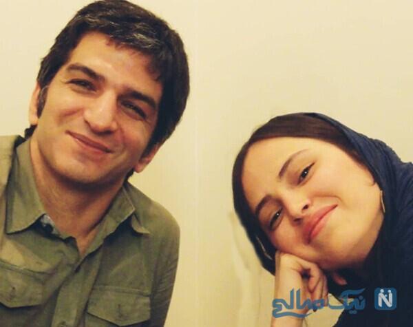 شیرین اسماعیلی و همسرش