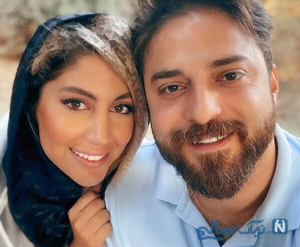 بابک جهانبخش و همسرش پریا تا تیپ زمستانی شیوا طاهری