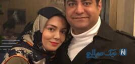 آزاده نامداری و همسرش در یک شب خاص تا تولد سعید آقاخانی مبارک
