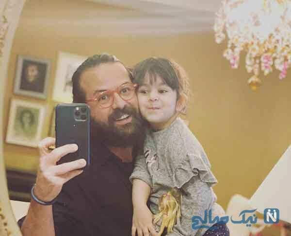 تبریک روز پدر و مرد چهره ها از احمد مهران فر و پسرش نیک تا پدر ستاره پسیانی
