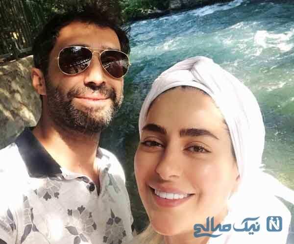 سمانه پاکدل با همسرش و تبریک نوروزی تا پسر کمند امیرسلیمانی