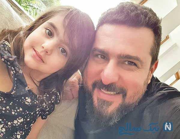 دختر محسن کیایی به وقت تولد تا بازیگوشی های احسان کرمی و پسرش