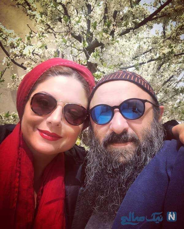 سولماز غنی و همسرش