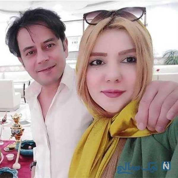 رحیم نوروزی و همسرش