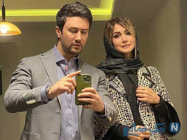 شاهرخ استخری و خانواده اش در روز عید تا نفس دختر مستانه مهاجر