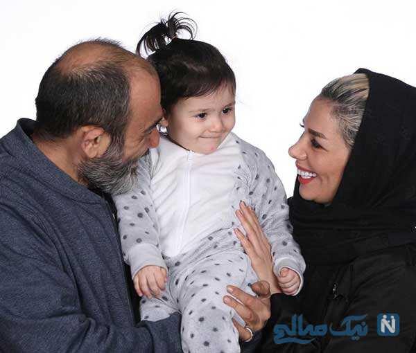 آرزو همسر مهران غفوریان به وقت تولد تا مهدی علیپور و دخترش