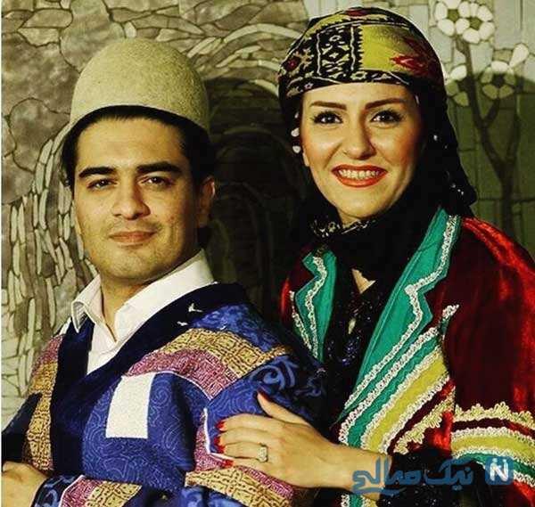 همسر سامان احتشامی