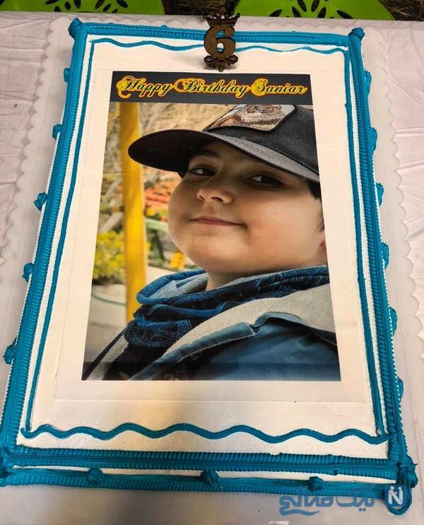 الهام اخوان در دودکش تا جشن تولد پردیس احمدیه با پسر سپیده خداوردی