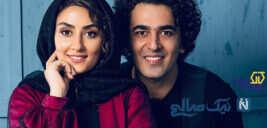 الهام طهموری با همسرش در سالگرد عاشقی تا تولد پدر هوتن شکیبا