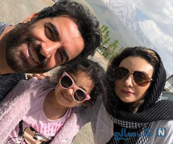 تبریک روز دختر چهره ها از مارال به خواهرش مونا تا دختران باربد بابایی