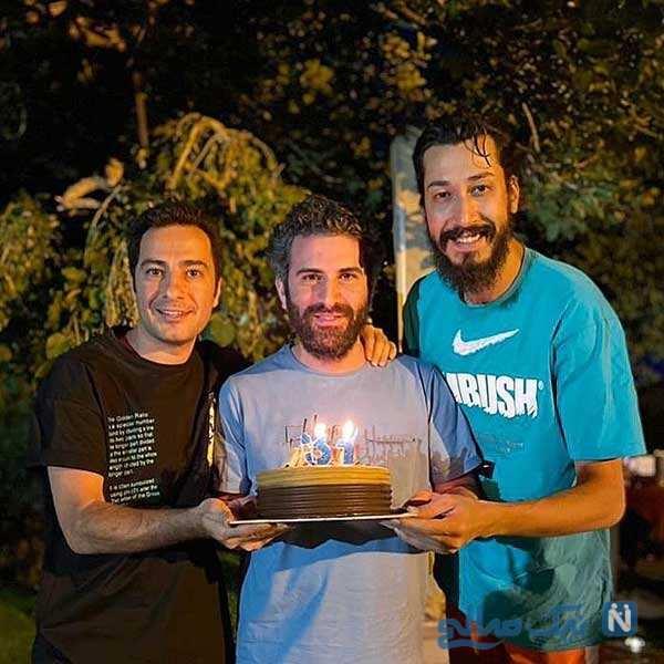 جشن تولد هوتن شکیبا
