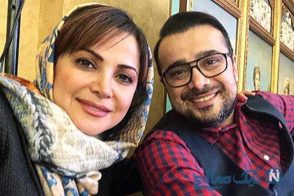 سپند امیرسلیمانی و خواهرش به وقت کودکی تا بازیگران کلبه ای در مه