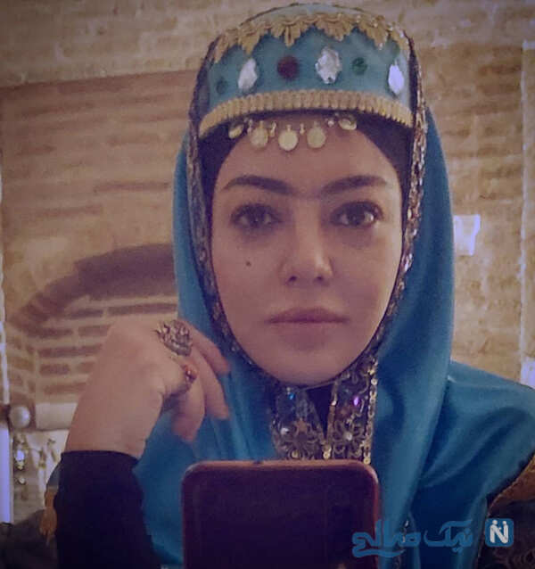 جشن تولد مریم شاه ولی تا رزیتا غفاری و متین ستوده با گریم زن زیبای قاجاری