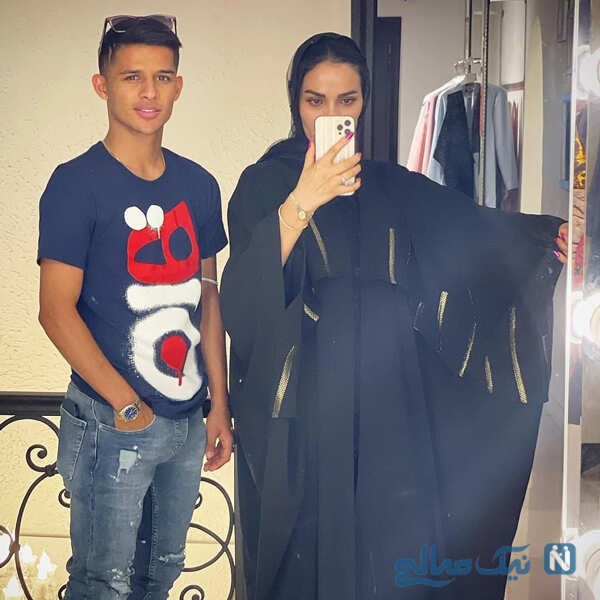 مهدی قایدی و همسرش ستاره