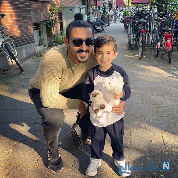مهران غفوریان در خاتون تا سفر فوتبالی نازنین کریمی با پسر رضا قوچان نژاد